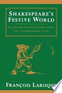 Shakespeare S Festive World