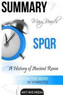 Mary Beard s SPQR