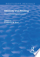 Ethnicity Housing  Accommodating the Differences