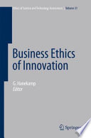 Business Ethics Of Innovation Book PDF
