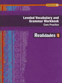 Leveled Vocabulary and Grammar Workbook  Guided Practice