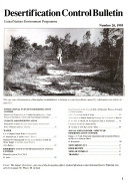 Desertification Control Bulletin