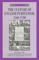 The Culture of English Puritanism 1560-1700 Pdf/ePub eBook