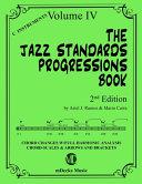 The Jazz Standards Progressions Book Vol 4 Book PDF