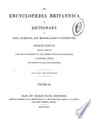 """""""The"""" Encyclopaedia Britannica,or, Dictionary of Arts, Sciences, and Miscellaneous Literature"""