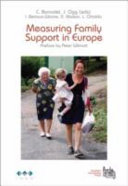Measuring Family Support in Europe