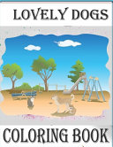 Lovely Dogs, CColoring Book