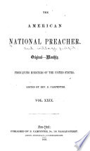 The National Preacher And Village Pulpit Book PDF