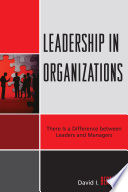 Leadership in Organizations Book