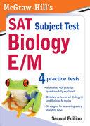 McGraw Hill s SAT Subject Test  Biology E M  2 E