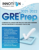 GRE Prep 2021 2022