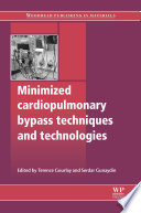 Minimized Cardiopulmonary Bypass Techniques And Technologies Book PDF