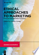 Ethical Approaches to Marketing Book