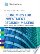 Economics for Investment Decision Makers Book
