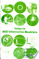 Index to AEC Information Booklets