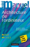 Mini manuel d'architecture de l'ordinateur ebook