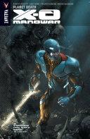 X O Manowar Vol  3  Planet Death TPB