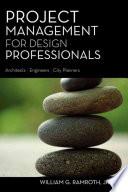 Project Management for Design Professionals