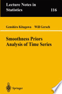 Smoothness Priors Analysis Of Time Series Book PDF