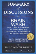 Summary and Discussions of Brain Wash