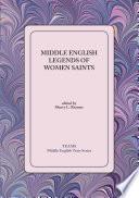 Middle English Legends Of Women Saints