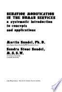 Behavior Modification in the Human Services