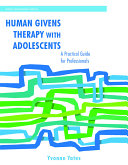 Human Givens Therapy with Adolescents