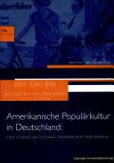 Amerikanische Populärkultur in Deutschland