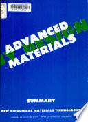 Advanced Materials by Design
