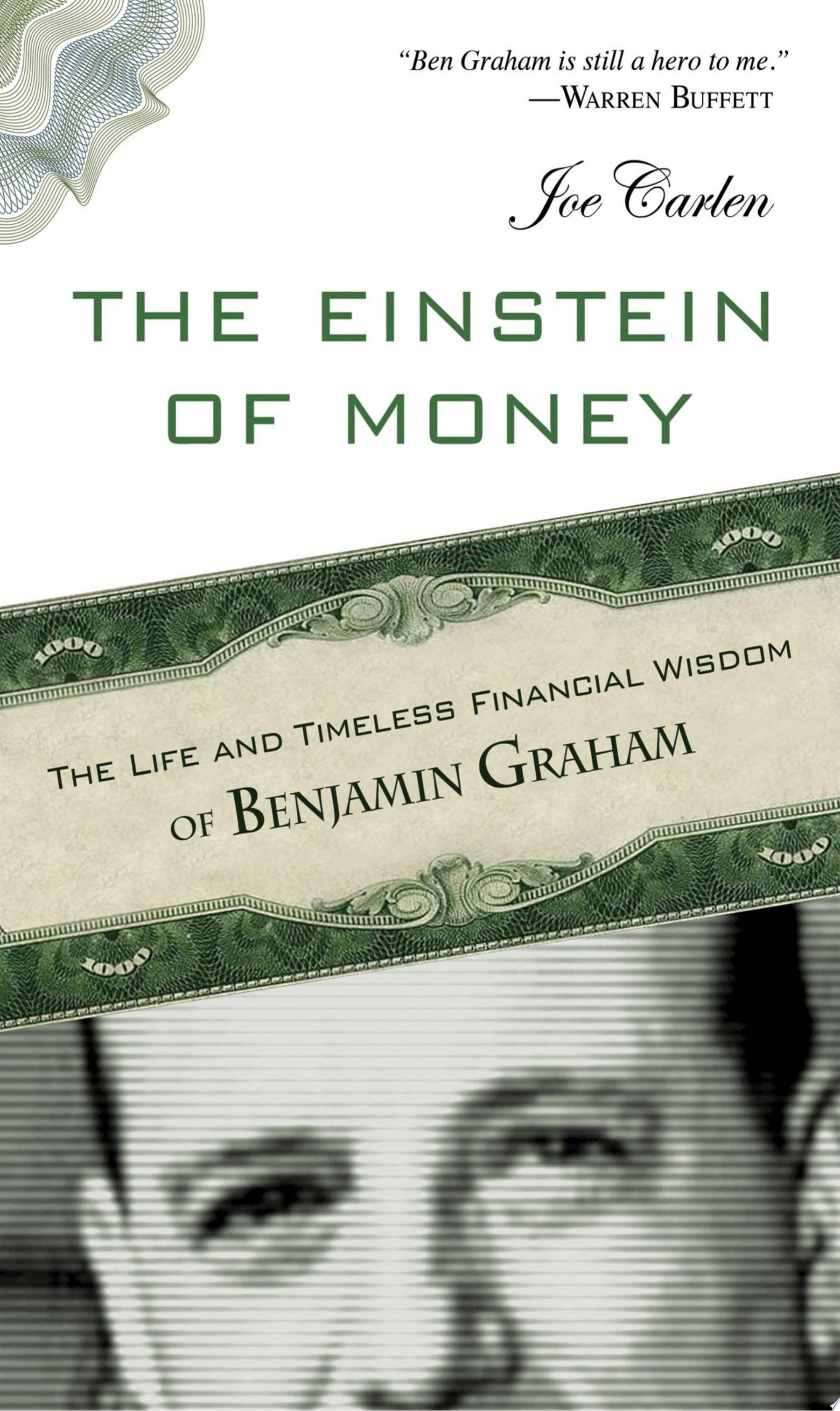 The Einstein of Money