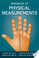 """Handbook of Physical Measurements"" by Judith Hall, Judith Allanson, Karen Gripp, Anne Slavotinek"
