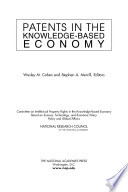 Patents in the Knowledge Based Economy Book