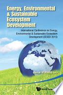 Energy  Environmental  amp  Sustainable Ecosystem Development
