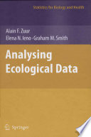 Analyzing Ecological Data