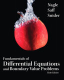 Fundamentals of Differential Equations w BVP