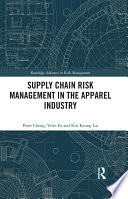 Supply Chain Risk Management in the Apparel Industry