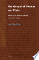 The Gospel Of Thomas And Plato Book