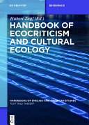 Pdf Handbook of Ecocriticism and Cultural Ecology Telecharger