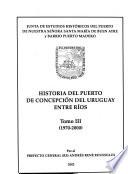 Historia del Puerto de Concepción del Uruguay, Entre Ríos
