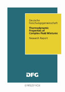 Thermodynamic Properties of Complex Fluid Mixtures