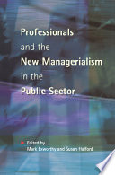 Professionals and New Managerialism  , Parte 8