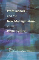 Professionals   New Managerialism