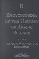 Encyclopedia of the History of Arabic Science: Technology, alchemy and life sciences ebook