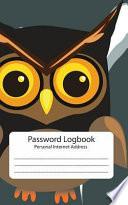 Password Log : Personal Internet Address Book  : Owl:Password Journal: Password Keeper