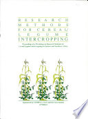 Research Methods For Cereal Legume Intercropping