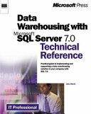 Data Warehousing with Microsoft SQL Server 7 0