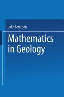 Pdf Mathematics in Geology