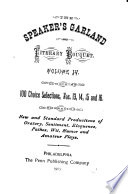 The Speaker's Garland Pdf/ePub eBook