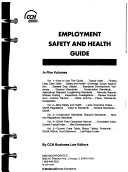 Employment Safety and Health Guide Book