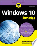 """Windows 10 For Dummies"" by Andy Rathbone"